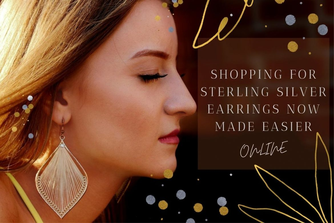 Shopping For Sterling Silver Earrings